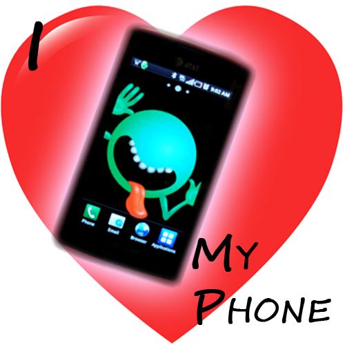 I heart my phone